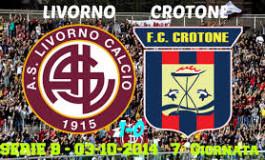 Livorno Crotone 0-0 Punto Strameritato