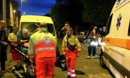 Incidente tra scooter in via Lunardi