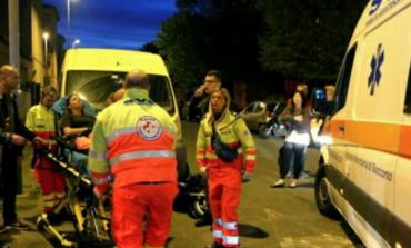 Incidente tra scooter in via Lunardi