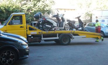 Sequestrati scooter senza copertura assicurativa