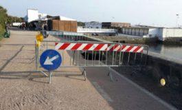 Voragine sulla passeggiata a mare di Ardenza