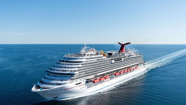 Crociere: in porto la nuova Ammiraglia Carnival