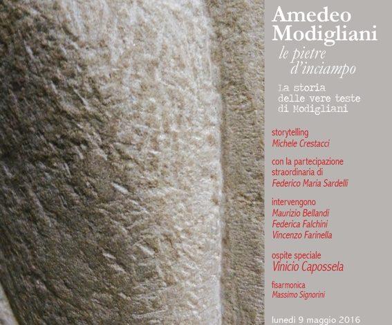 Amedeo Modigliani Le Pietre d'Inciampo