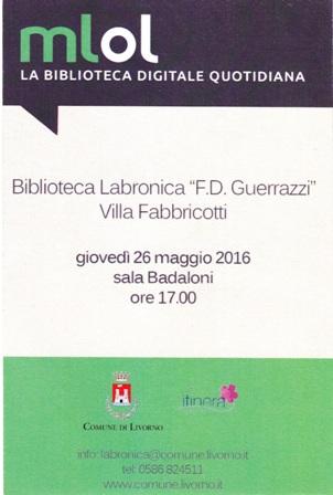 Media Library On Line portale presentato alla Biblioteca Labronica
