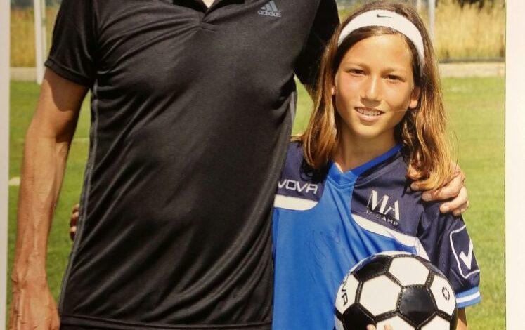 Camp di Allegri, tra calcio e ammirazione