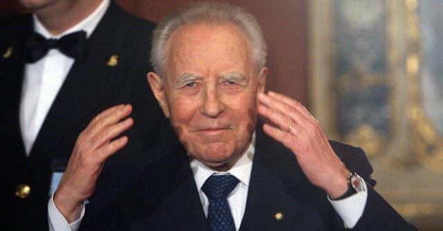 Cerimonia in memoria di Carlo Azeglio Ciampi