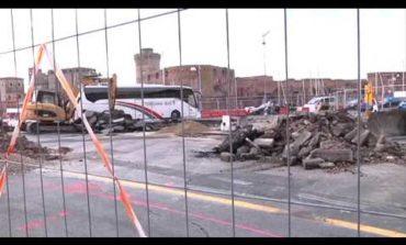 Lavori rotatoria: chiusa via S. Giovanni (VIDEO)