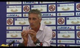 Livorno Carrarese parla Foscarini (VIDEO integrale)