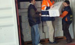 Sequestro in porto di prodotti provenienti dalla Cina