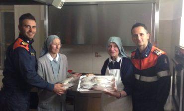 Alla Caritas prodotti ittici sequestrati