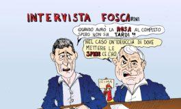 Rosa decimata, Spinelli replica a Foscarini