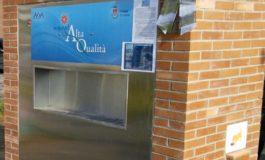"""Inaugurata la fontanella di acqua ad """"Alta Qualità"""" alla rotatoria di Salviano"""