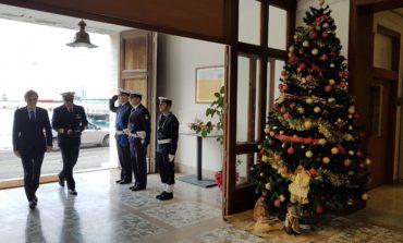 Il Ministro Delrio in visita alla Capitaneria di Porto