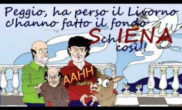 Una vera disfatta ma sempre forza Livorno!! (Video)