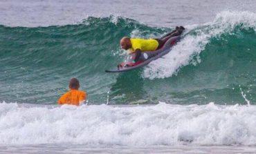 Surf per disabili, livornese in partenza per il Portogallo