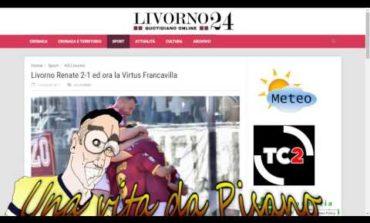 La vignetta di Rima sull'esultanza di Napoli. Alle 17,30 l'andata playoff (Video)