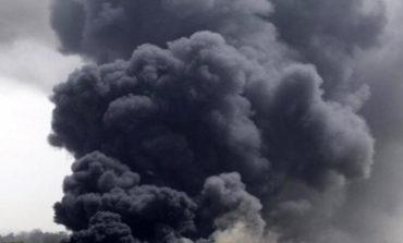 Ripetitore in fiamme in zona Romito
