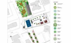 Un parco pubblico, una piazza e nuovi parcheggi
