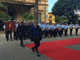 Celebrato l'anniversario del Corpo di Polizia Municipale