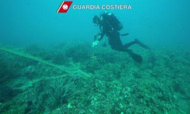 Calafuria: rimossa rete da pesca. I ringraziamenti del Comune