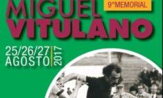 Al via il IX° Memorial Miguel Vitulano