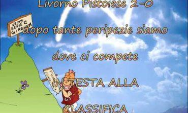 Livorno solitario in classifica. La vignetta di Rima