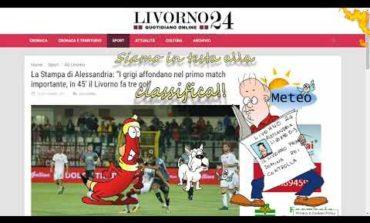 Livorno in vetta alla classifica (Video)