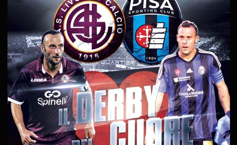 Il primo Livorno-Pisa è il derby di solidarietà