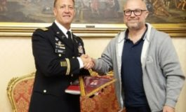 Ricevuto a Palazzo comunale il Comandante della Guarnigione U.S. Army Italy