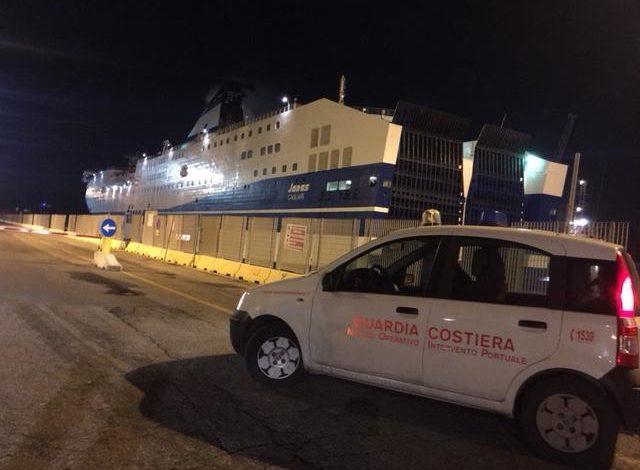 In avaria traghetto con 460 passeggeri a bordo. Tempestivi gli interventi di ripristino
