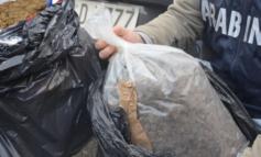 Con la droga nei sacchi della spazzatura. Sequestrati più di 13 kg di marjiuana