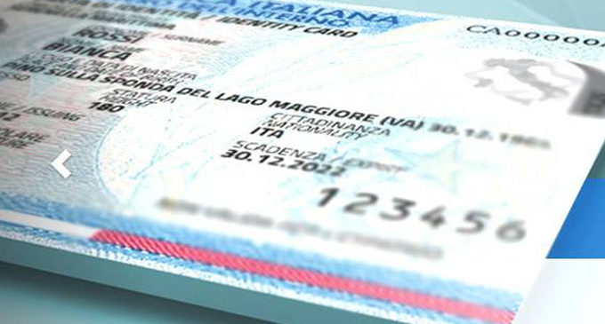 Stop alla Carta d'Identita cartacea. Arriva la nuova C.I.E Carta d'Identità Elettronica, più funzionale e sicura