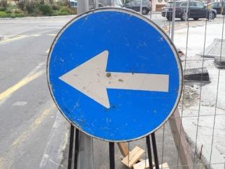 Lavori alla fognatura bianca di via Muratori/via dell'Ardenza