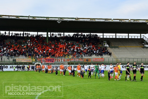 Pistoiese Livorno 1-1. Il Gol del Figliol Prodigo