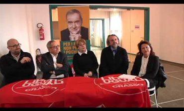 Elezioni politiche: si presentano i candidati di Liberi e Uguali (Video)
