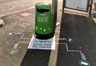"""Aamps lancia la """"rivoluzione dei cestini"""""""
