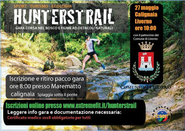 Al via Hunterstrail: corsa e nuoto tra i colli e mare livornese