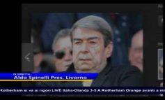 """Sfogo di Spinelli in tv: """"Mi avete cacciato, ma tornerò nel calcio lontano da Livorno"""" (Video)"""