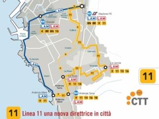Linea 11, una nuova direttrice in città