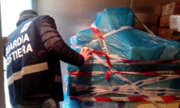 Guardia Costiera: sequestrati 1.400 kg di prodotti ittici scaduti