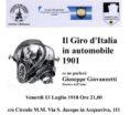 Il Giro d'Italia in Automobile