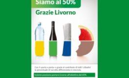 La raccolta differenziata a Livorno raggiunge il 50 per cento di efficienza
