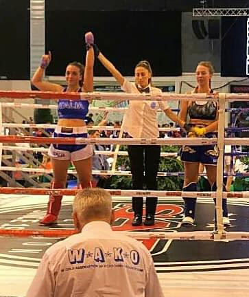 Irene Cipriani conquista il titolo mondiale di kickboxing