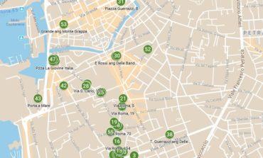 La mappa delle bici abbandonate
