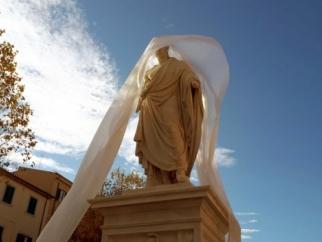 Leopoldo II di Toscana, inaugurato il monumento restaurato
