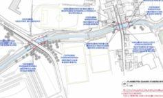 Nuovo ponte in via Impastato e passerella ciclopedonale in via di Salviano