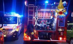 A fuoco materasso: grave 74enne