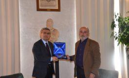 Verna riceve il presidente dell'AP greca Alessandropoli