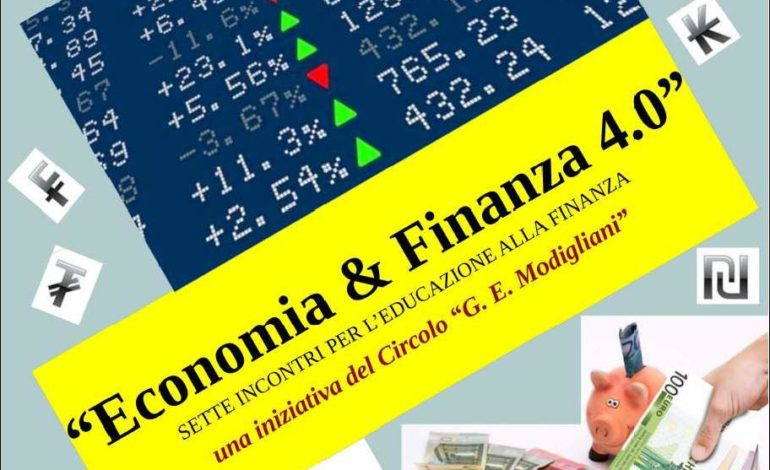 Corso gratuito di Economia & Finanza, ultimi giorni per prenotarsi
