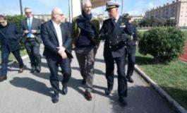 Il presidente del CONI in visita a Livorno